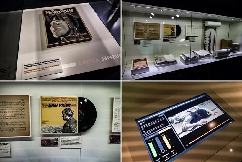 Роль звука в истории кино музейная экспозиция