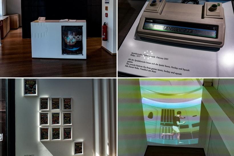 Тематика фильма Космическая одиссея 2001 в музее кино