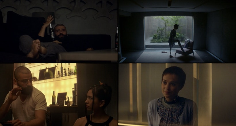 TURING TEST TO DEFINE HUMANE ATTITUDE. Ex machina movie