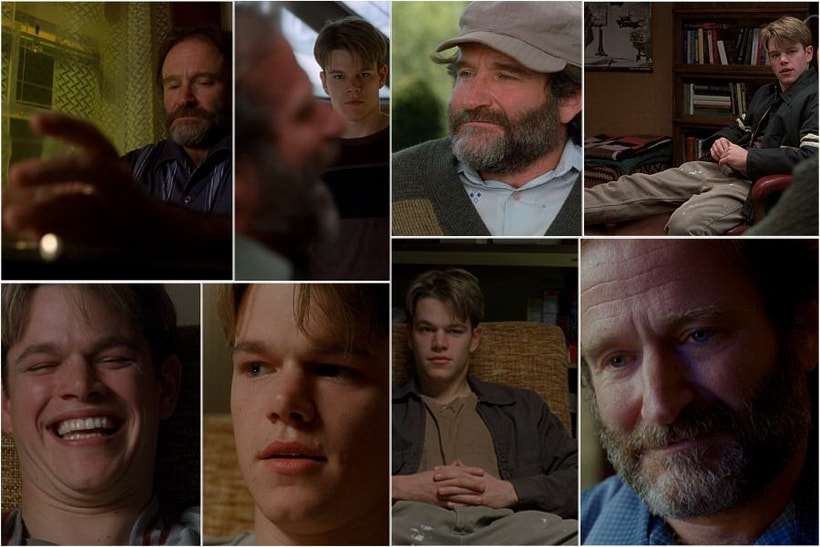 Robin WIlliams as Sean. Good will hunting explained