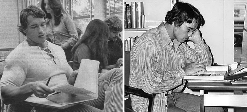 1968 года для Арнольда и обучение в школе бизнеса