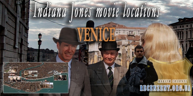 Indiana Jones movie locations in Venice. The last crusade
