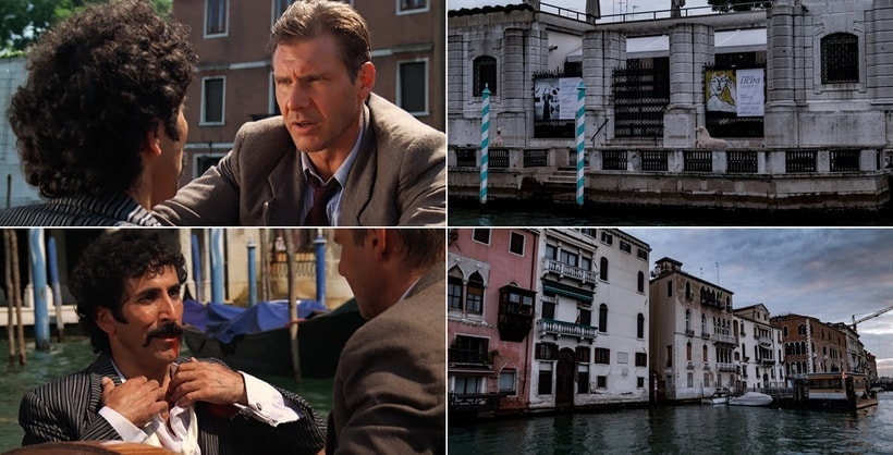 KAZIM GOES ASHORE. Indiana Jones and the last crusade Venice