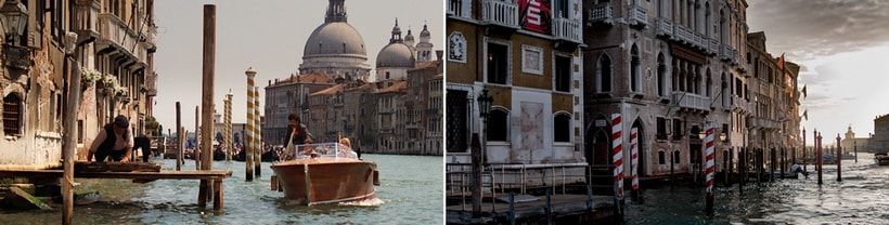 KAZIM GOES ASHORE. Indiana Jones Venice film locations