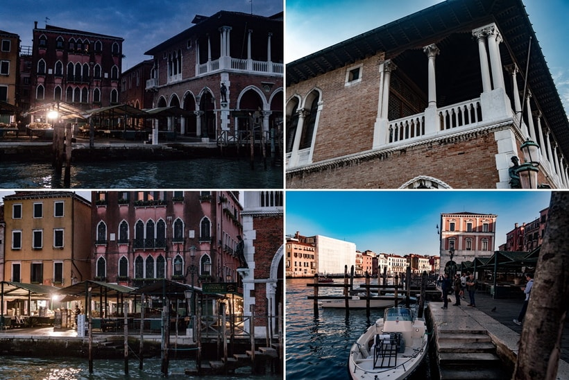 Johhny Depp, Rialto Market and the Tourist movie locations in Venice
