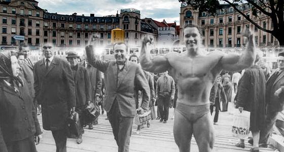 Arnold-schwarzenegger in Munich