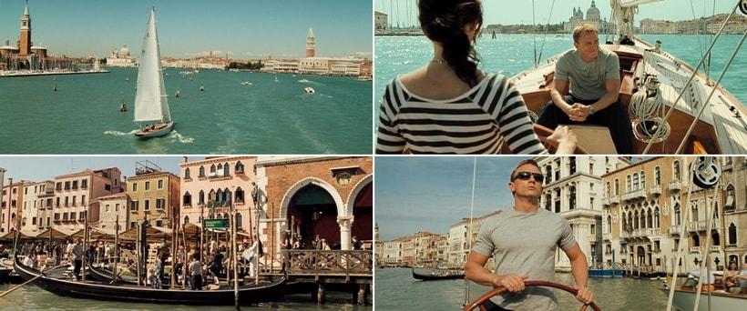James Bond, Vesper and Venice Grand canal