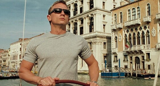 Casino Royale Venice locations