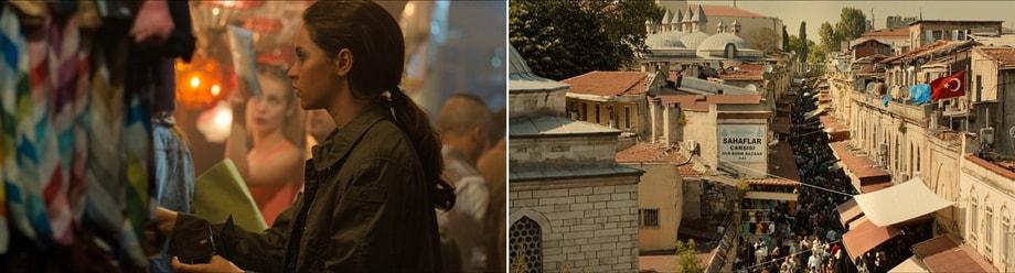 GRAND BAZAAR Inferno filming locations Istanbul