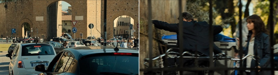 Inferno filming locations in FLorence Italy