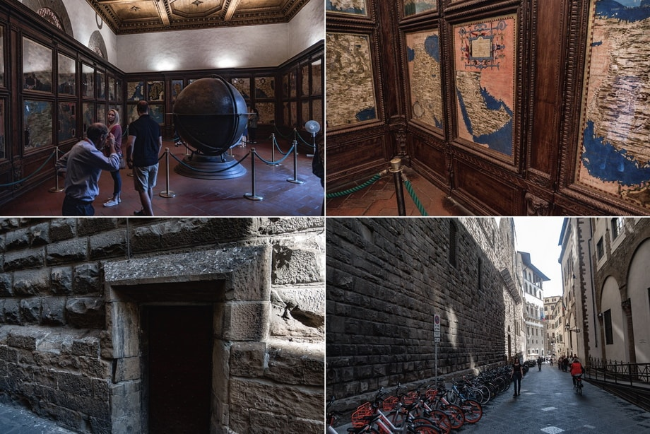 'Hall of Geographical Maps', Inferno movie Florence