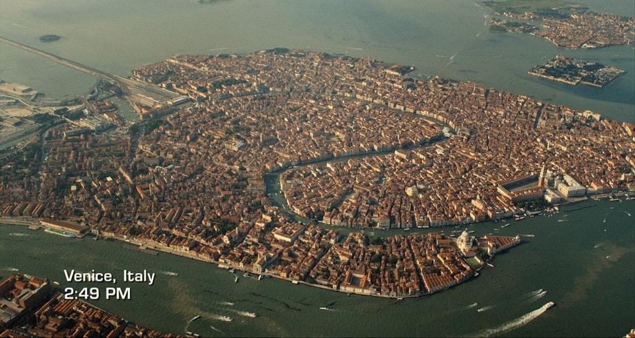 MOVING TO VENICE. Inferno Venice movie locations