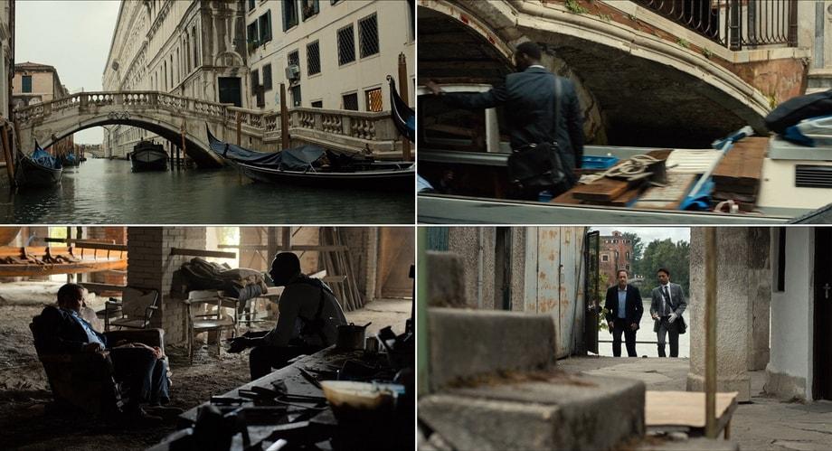 LANGDON LEAVING VENICE, Inferno filming locations Venice