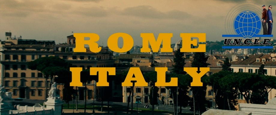 'The Man from U.N.C.L.E' filming locations in Rome