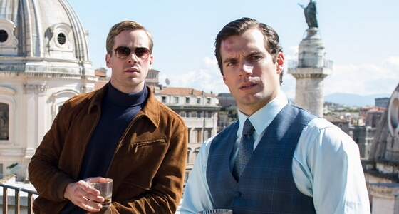The man from U.N.C.L.E. rome locations