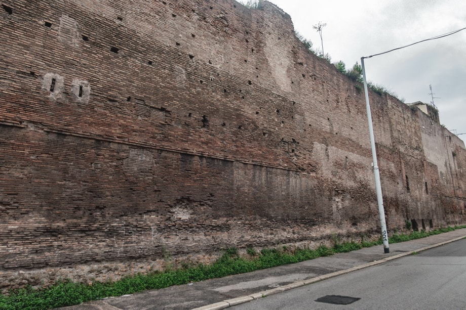 THE WALL OF WISHES in Rome