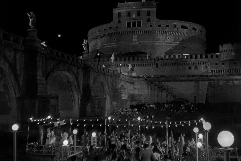 SANT' ANGELO and the Roman Holiday movie set