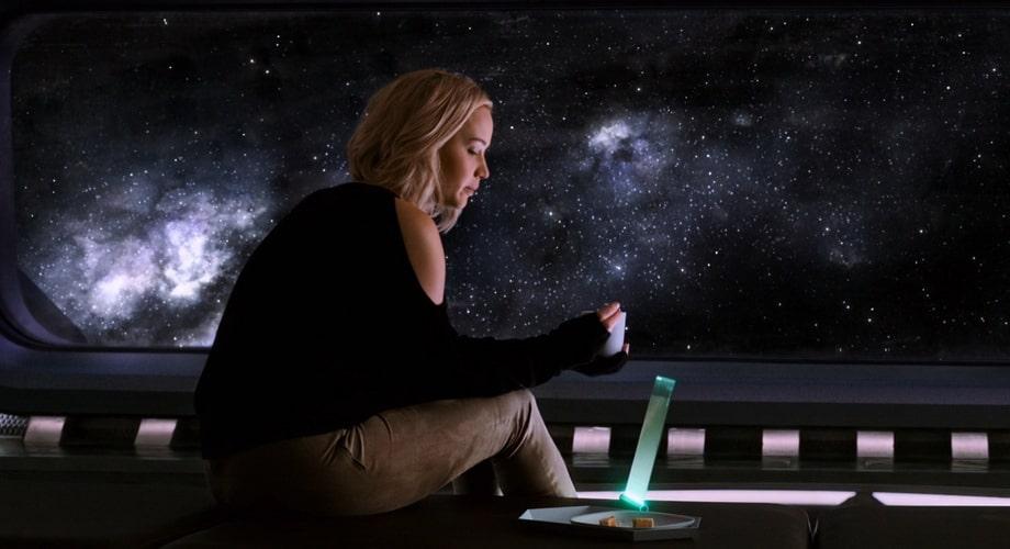 Aurora character analysis 'The passengers' 2016