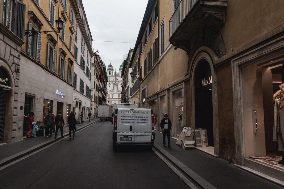 VIA DEI CONDOTTI in Rome