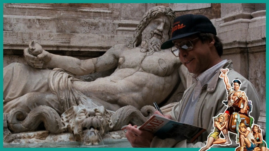 National Lampoon Rome movie locations