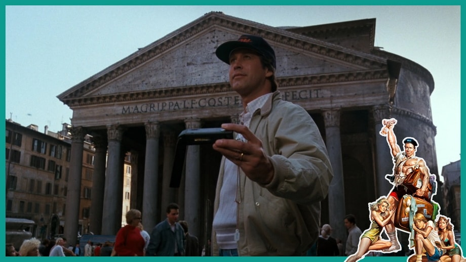 Clark Griswold at Pantheon