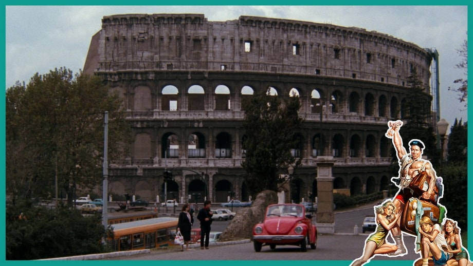 THE CAR CHASE Griswold Rome