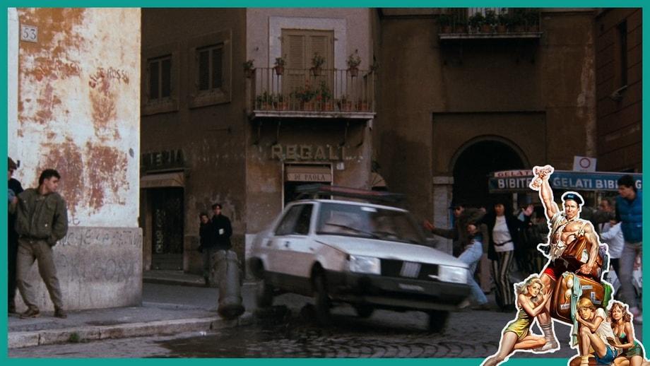 Via Dei Lorenesi alley,