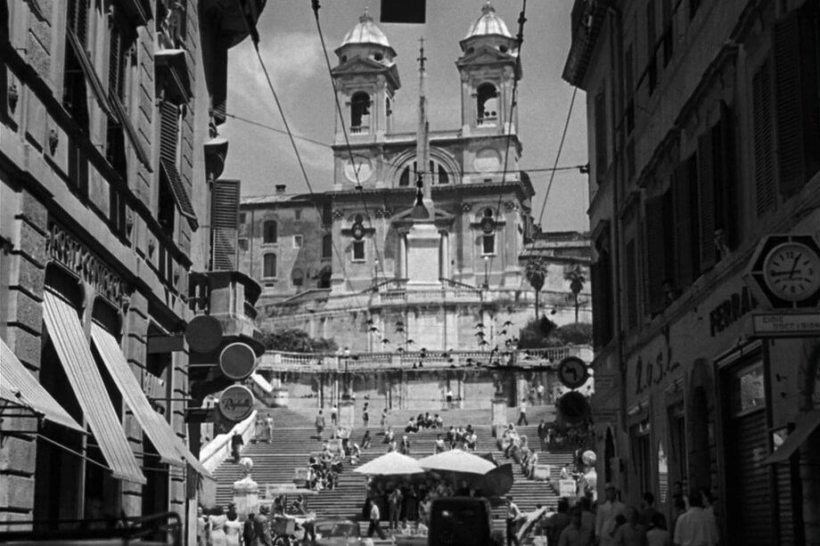 Piazza Di Spagna. Roman holiday 1953