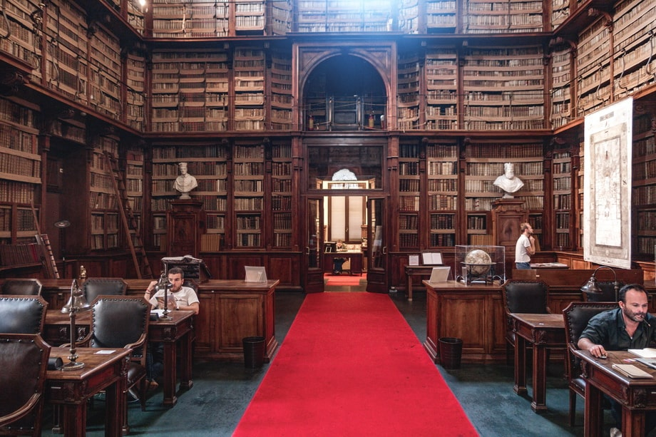 'BIBLIOTECA ANGELICA' in Rome, Italy