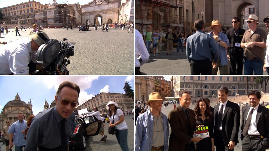 SANTA MARIA DEL POPOLO: angels and demons filming locations