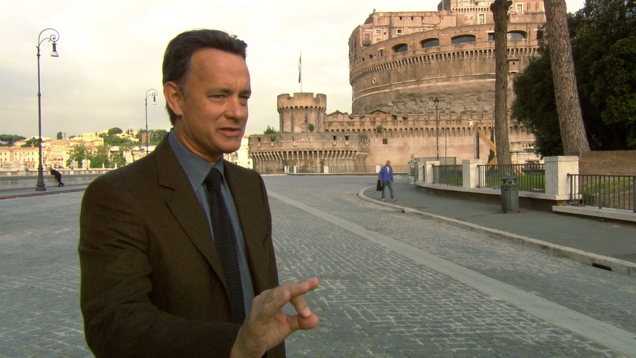 Tom Hanks and SANT ANGELO in Rome