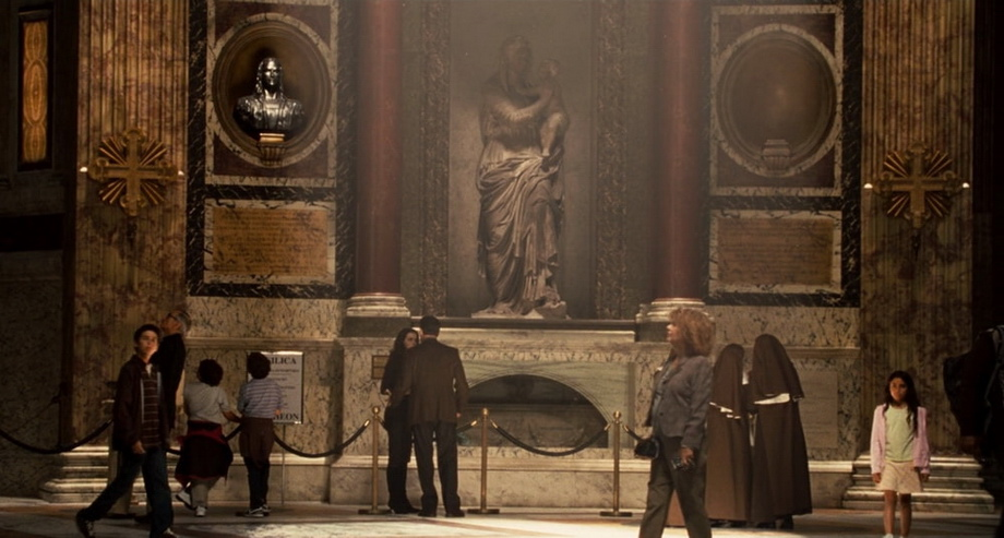 Pantheon in Rome: angels and demons movie locations