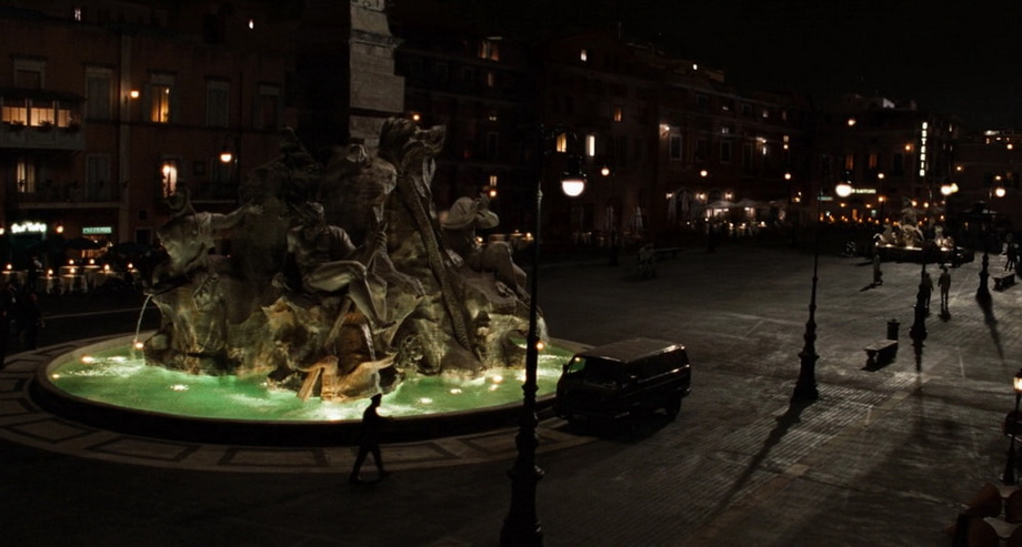 PIAZZA NAVONA. angels and demons italy locations