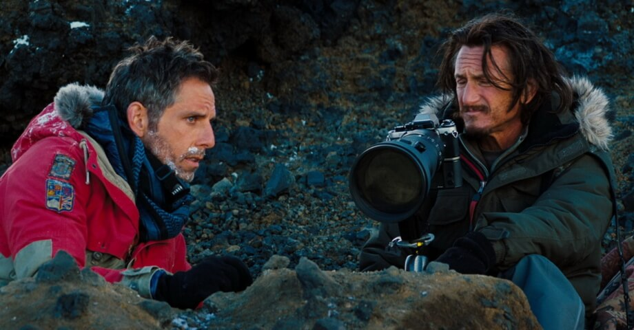 TO DRAW CLOSER. Ben Stiller and Sean Penn