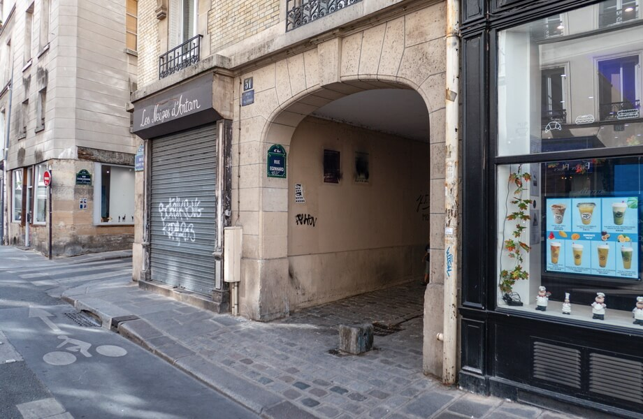 Rue Eginhard Paris movie locations