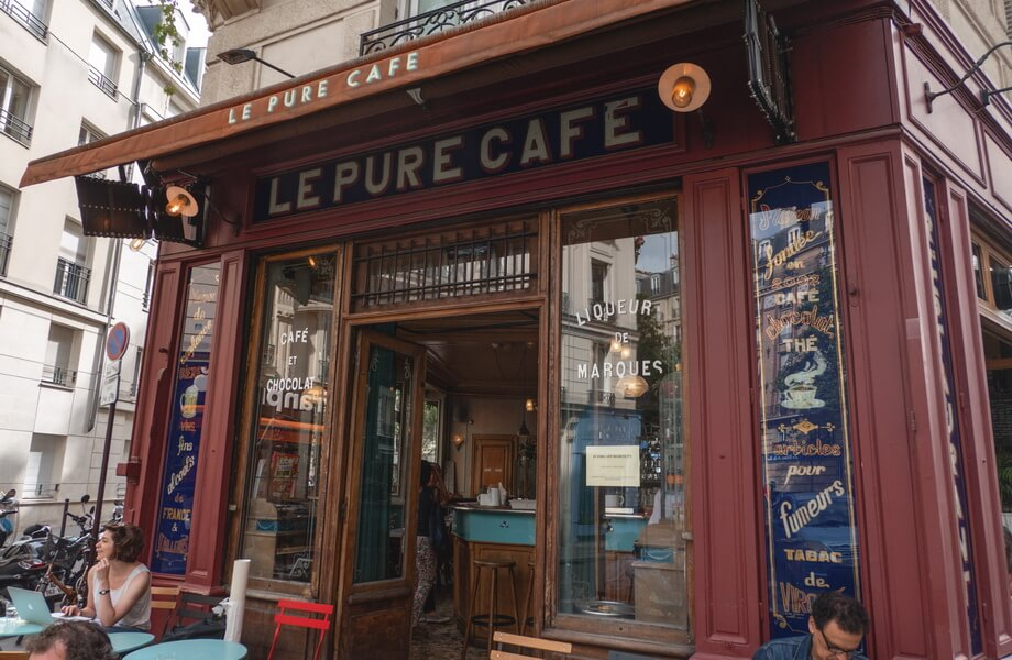 LE PURE CAFE Paris filming locations