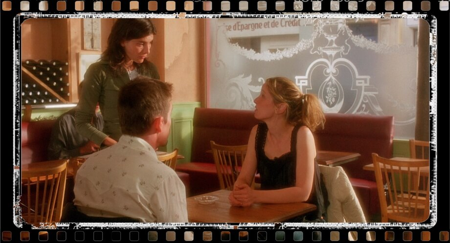 LE PURE CAFE Ethan Hawk and Julie Delpy