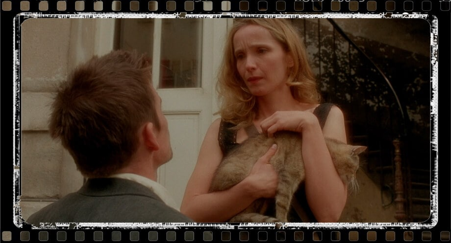 CELINE'S HOME, Ethan Hawk and Julie Delpy