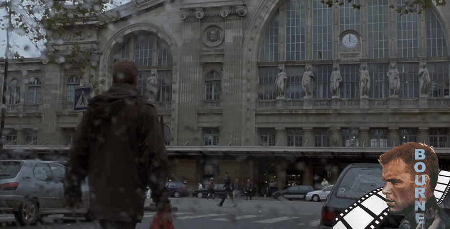 GARE DU NORD and jason Bourne