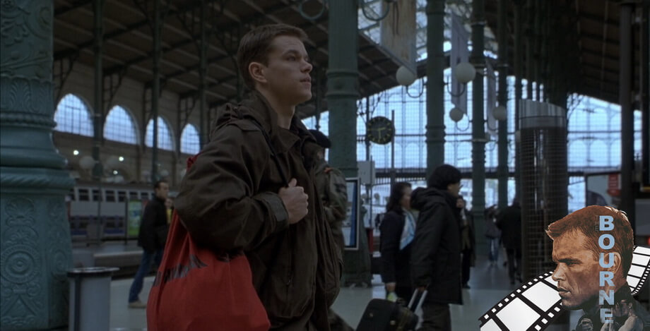 GARE DU NORD. The Bourne identity movie locations
