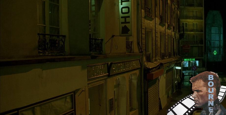 'HOTEL DE LA PAIX' Bourne identity