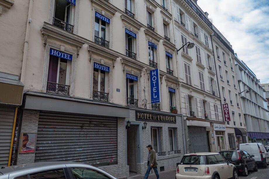 'HOTEL DE LA PAIX' Paris