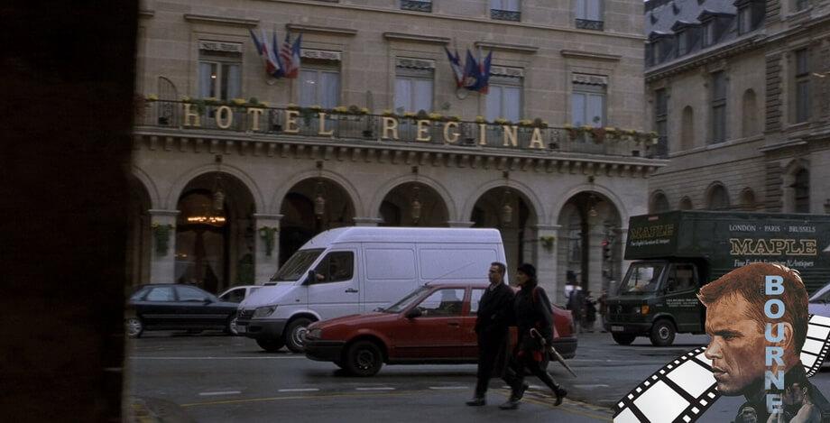 REGINA HOTEL Jason Bourne