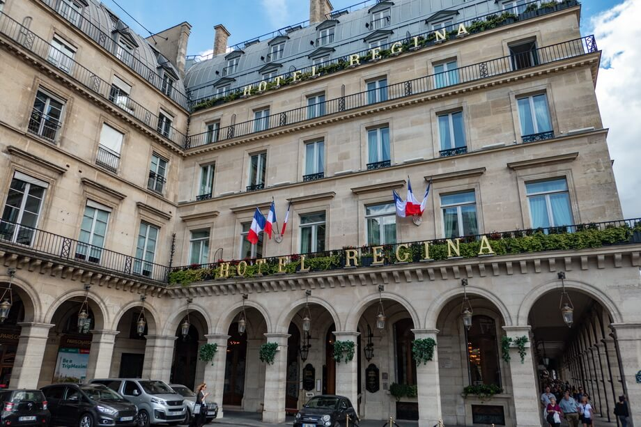 REGINA HOTEL in Paris