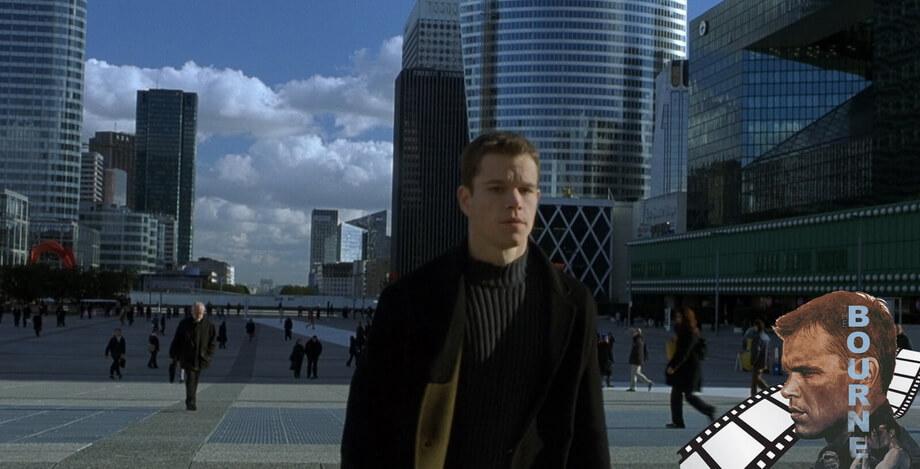 'La Grande Arche de la Défense' Jason Bourne