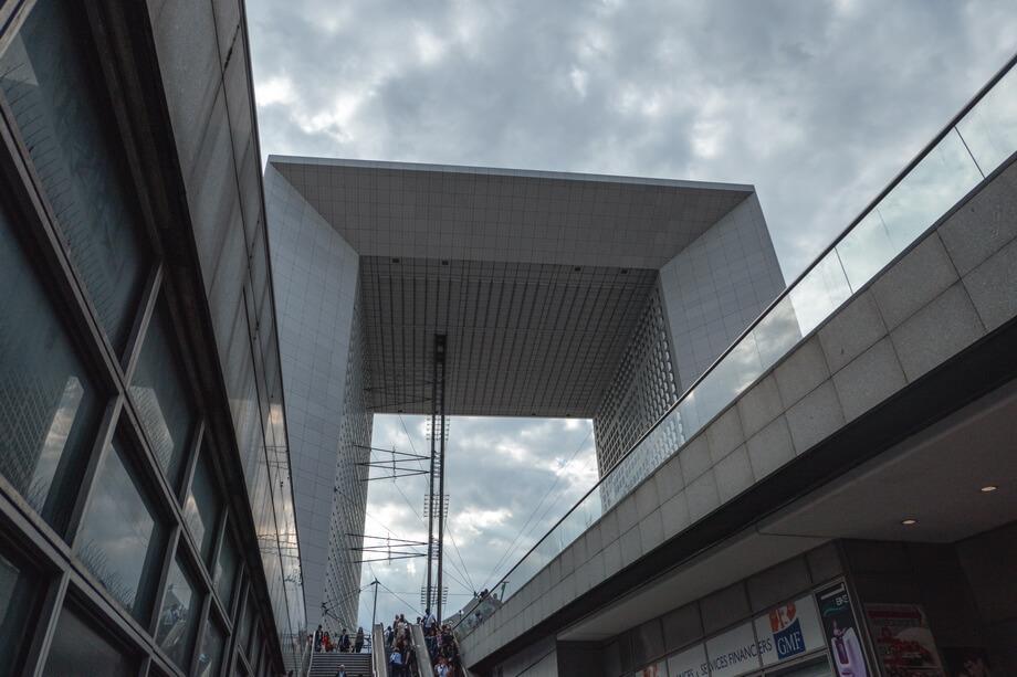 'La Grande Arche de la Défense'