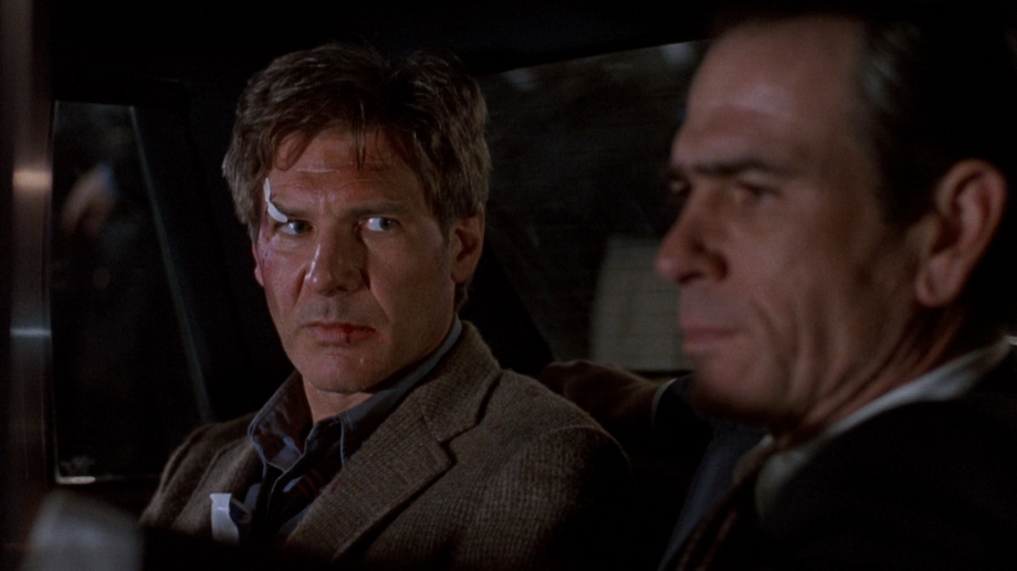 Harrison Ford and Tommy Lee Jones the fugitive