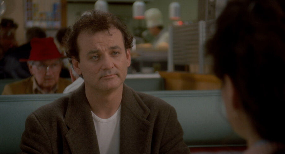 Bill Murray as Phil Connors: Groundhog day