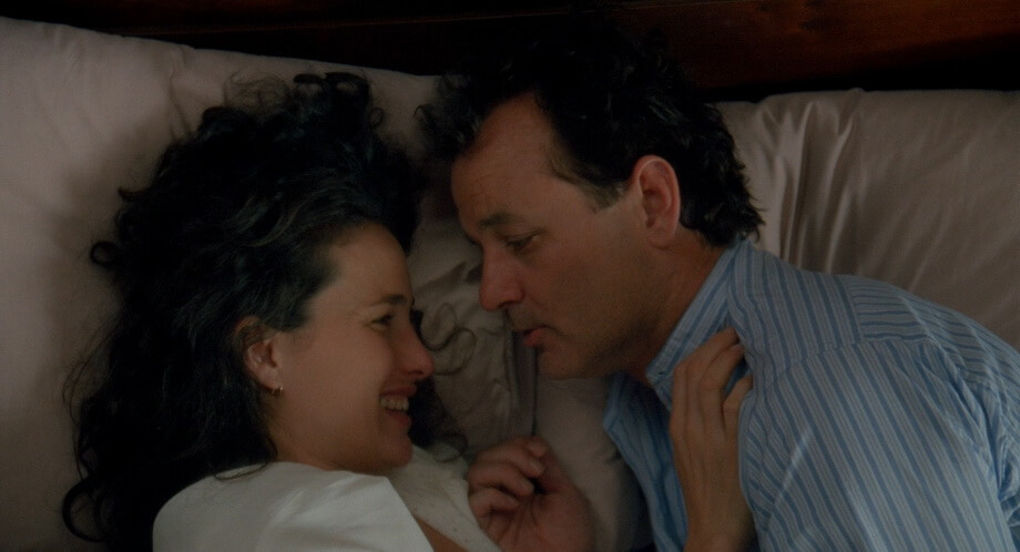 Rita and Phil: Andie MacDowell and Bill Murray