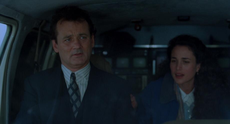 Bill Murray as Phil Connors Andie MacDowell as Rita Hanson